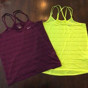Nike tank tops